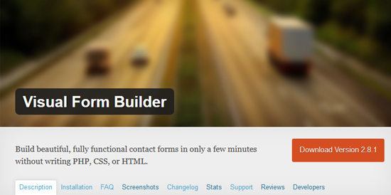 Visual-Form-Builder