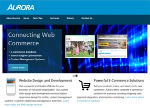 Aurora Design and Consulting Home Page