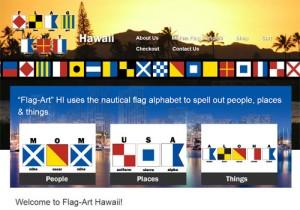 Flag Art Hawaii Home Page
