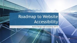 Website Accessibility Roadmap