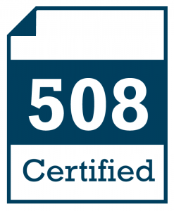 Illustration: 508 Certified Document